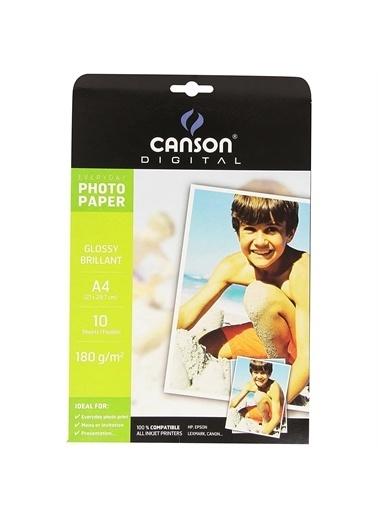 HP Canson Glossy A4 Fotoğraf Kağıdı 20'Li (180 Gr.) Renkli